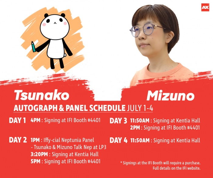 Neptunia Series Character Designer Tsunako And Producer Naoko Mizuno Are Official Guests Of Honor At Anime Expo This July 1 4